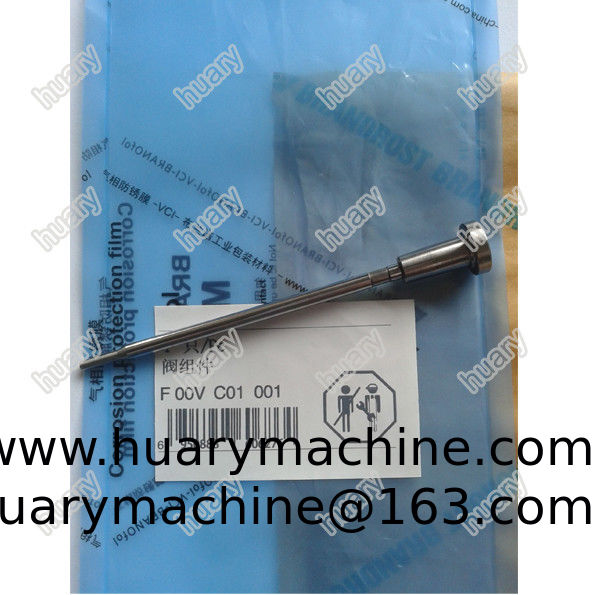 Common rail injector control valve F 00V C01 001