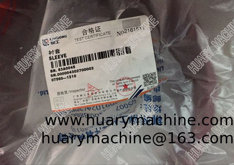 LIUGONG Wheel loader  parts,  83A0045 Sleeve, Spacer