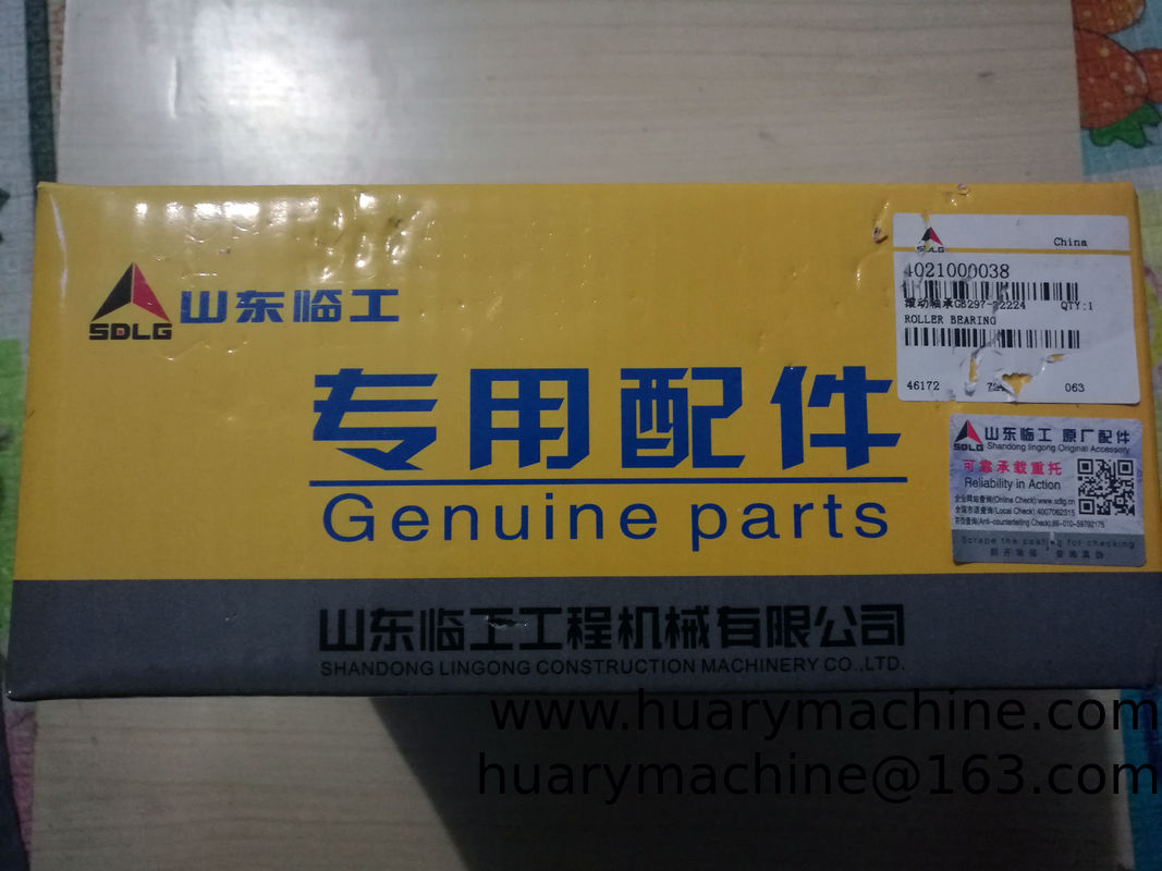 SDLG Wheel loader parts,  LG956 LG938 Wheel loader parts,  4021000038  GB297-32224 ROLLER BEARING