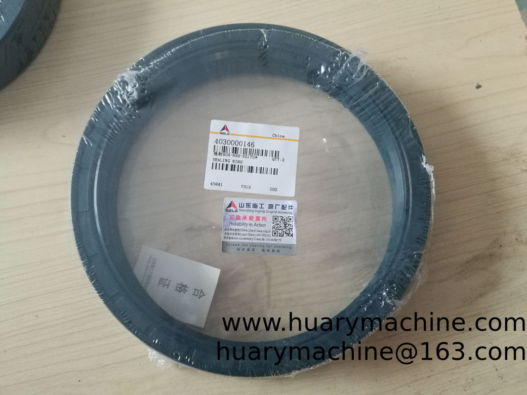 SDLG Wheel loader parts, 4030000146 HG4-492-SG170 sealing ring