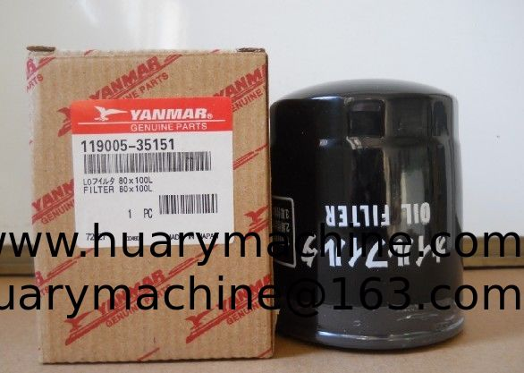 XCMG excavator parts , XE15 parts,    119005-35151 oil filter