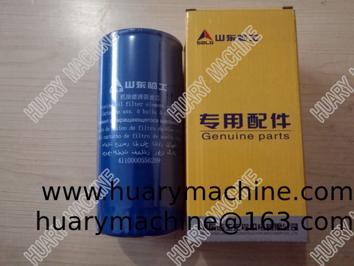 SDLG Wheel loader parts, 410000556209 oil filter