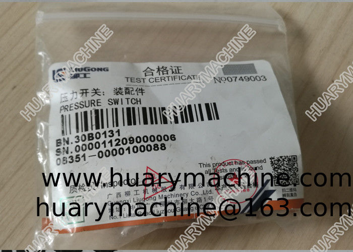 LIUGONG wheel loader  parts, 30B0131 PRESSURE SWITCH