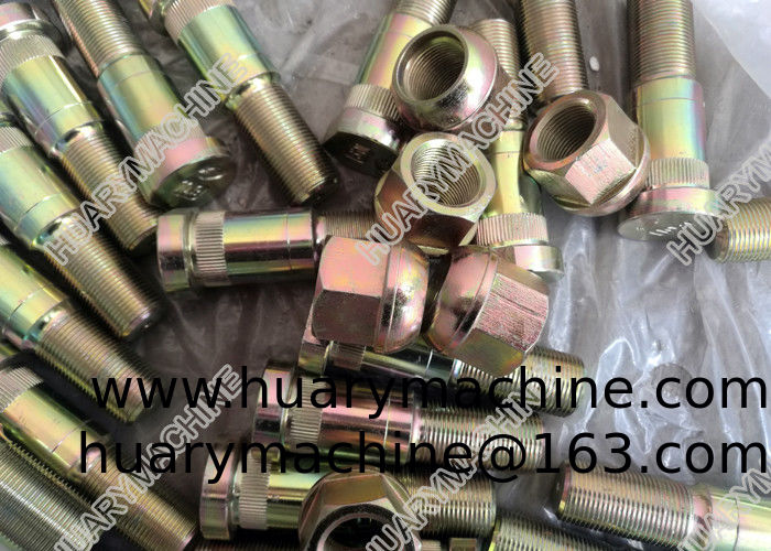 XCMG grader parts, 381600424 805203840 805011247 Hub nut and bolt