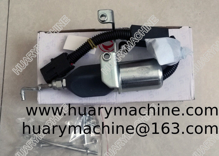 DONGFENG heavy truck PARTS, C5346207  shut off solenoid , cummins shut off solenoid.