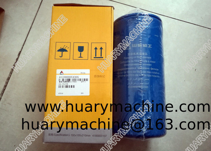 SDLG Wheel loader parts, 4110000054305  01174421 oil filter