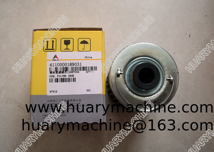 SDLG Wheel loader parts, 4110000189031 13067054 fuel filter inse