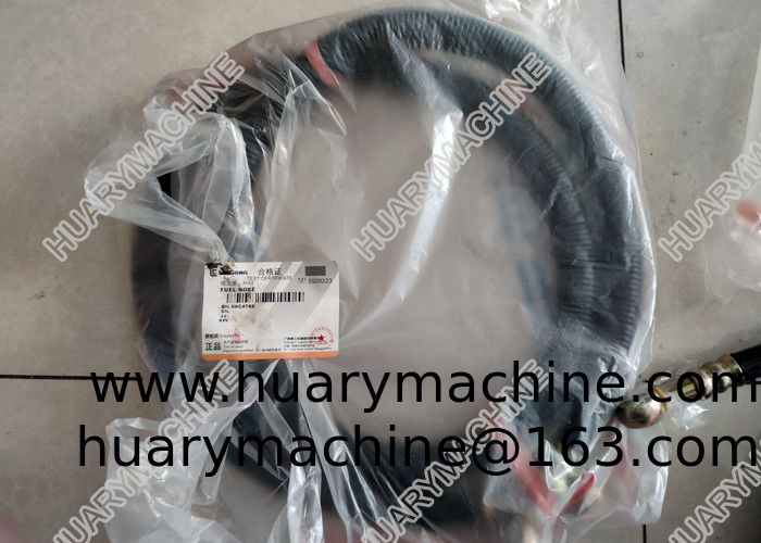 LIUGONG wheel loader parts, 06c4789 fuel pipe, fuel hose