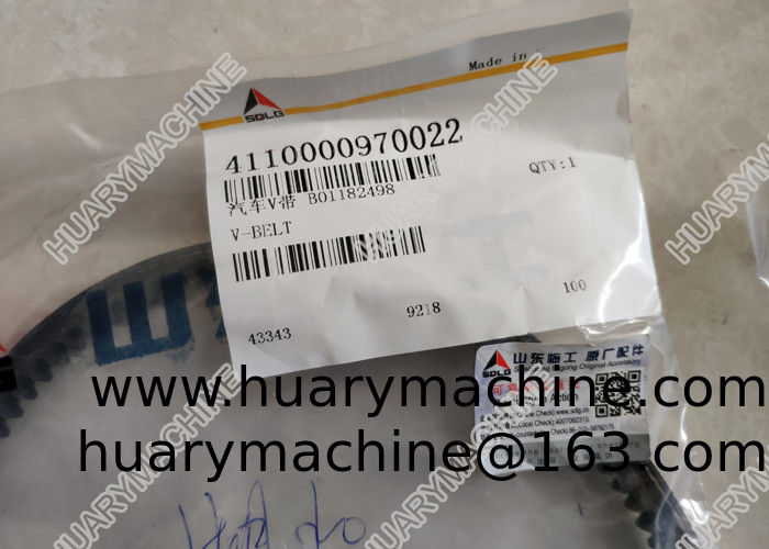 SDLG Wheel loader parts, 4110000970022 V belt